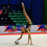 This Rhythmic Gymnast's Whitney Houston Routine Will Take the Breath Right Out of Your Lungs