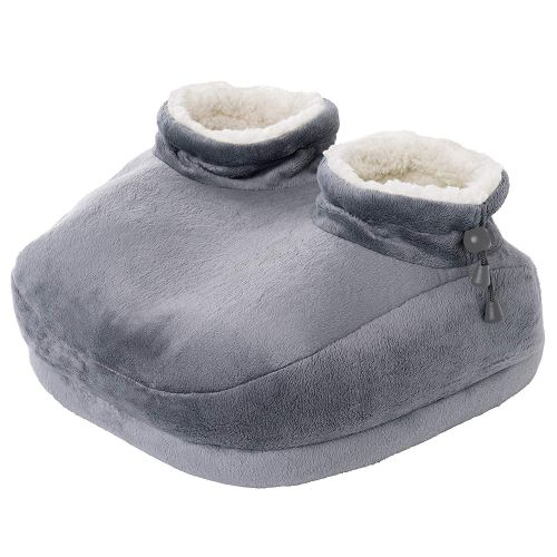 Amazon Sells a Cartoonishly Large Heated Slipper That I Guess Both Feet Go in - You Actually Cannot Get Up