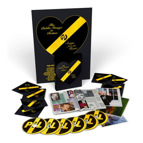 Win PIL's The Public Image Is Rotten Box Set On Vinyl And CD/DVD