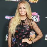 Carrie Underwood Shares First Glimpse of Ballooning Baby Bump