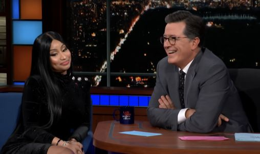 "Nicki Minaj Gives Stephen Colbert a ""Barbie Dreams"" Verse of His Own"