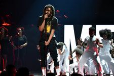 J. Cole Gives 'FRIENDS' A Surreal Spin In His 2018 BET Awards Performance