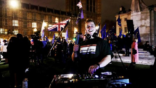 Some Questions for the Guy Who DJed Outside the Houses of Parliament