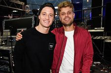 Kygo and Sandro Cavazza Debut 'Happy Now' Collab at iHeartRadio Music Festival