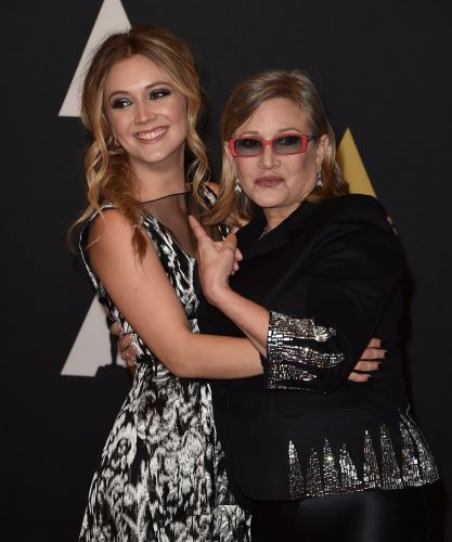 Billie Lourd and Carrie Fisher Will Share a Special Scene in Star Wars: The Rise of Skywalker