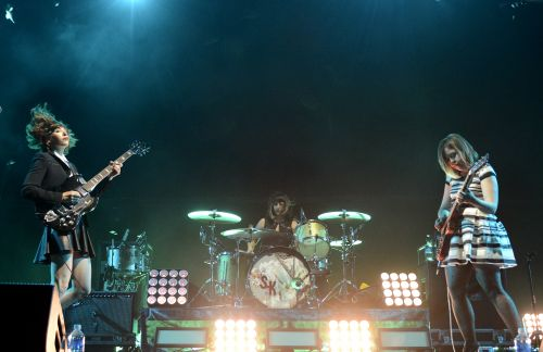 Sleater-Kinney's New St. Vincent-Produced Album Is Called The Center Won't Hold