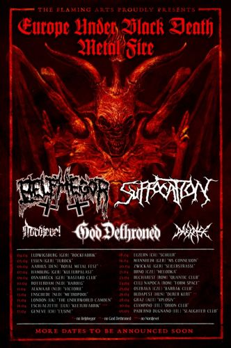 SUFFOCATION And BELPHEGOR To Join Forces For European Tour