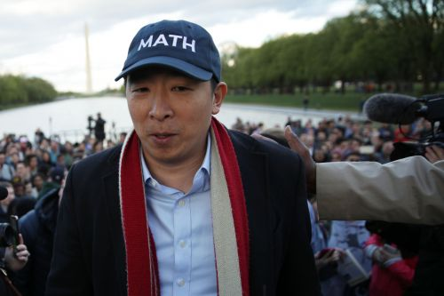 "Move Over Beto And Pete, Andrew Yang Aims To Be ""The First Ex-Goth President"""