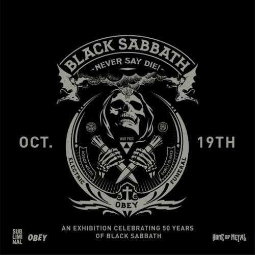'Never Say Die!: Celebrating 50 Years Of Black Sabbath' Immersive Exhibition To Open In Los Angeles This Week