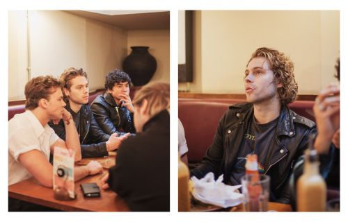 I Took Every Member of 5 Seconds of Summer on a Date to Nando's