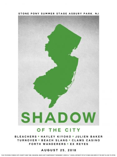 Jack Antonoff Announces Hayley Kiyoko, Julien Baker, Forth Wanderers, & More For Shadow Of The City 2018
