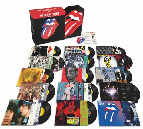 Win The Rolling Stones Studio Albums Vinyl Collection 1971-2016 Box Set