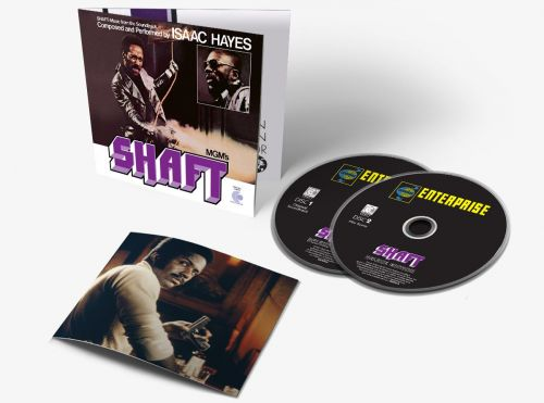 Shaft soundtrack deluxe reissue to feature rare original film music plus Isaac Haye's soundtrack