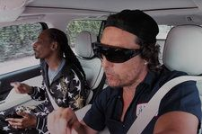 Snoop Dogg & Matthew McConaughey Sings the Classics in 'Carpool Karaoke' Teaser: Exclusive