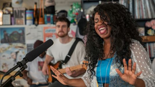 Nao's Tiny Desk Concert Will Fully Soothe Your Soul