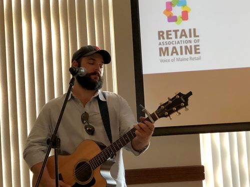 News: BMI Songwriter Sam James Performs at Retailers and Grocers Summit