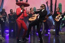 YG Brings Mariachi Band to 'Ellen' for 'Go Loko' Performance With Tyga & Jon Z: Watch