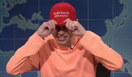 """Pete Davidson Calls Out Kanye For Post-SNL Political Speech: """"Where's The Album?"""""""
