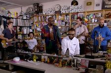 Freddie Gibbs and Madlib Link Up For Soulful Tiny Desk Concert: Watch
