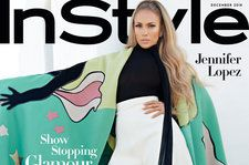 Jennifer Lopez Poses For 'InStyle,' Talks Fighting Double Standards For Women in Entertainment