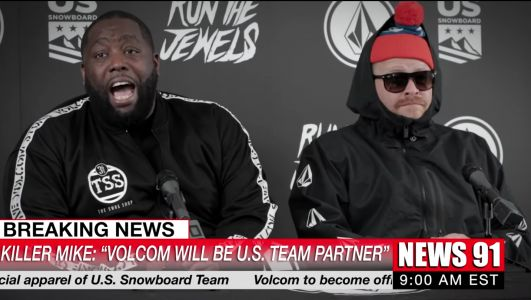 This Video Has Everything: Run The Jewels, Tim Robinson, Shaq, Olympic Snowboarding
