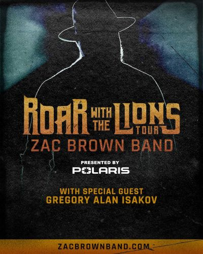 """Zac Brown Band Announce """"Roar with the Lions Tour"""""""