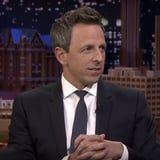 Seth Meyers Jokes That Rihanna Is Bad at Taking Pictures - and He Has the Proof