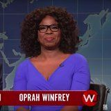 Oprah Reveals Who Could Take Her Down in a Presidential Election on SNL