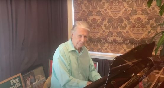 "Watch Brian Wilson Perform ""Love And Mercy"" On Colbert"