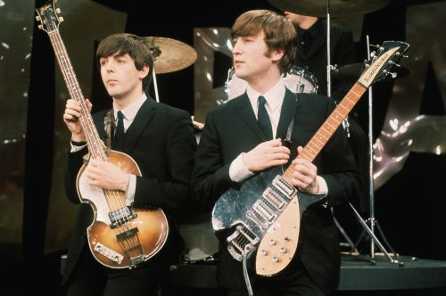 Here's a Story About Paul McCartney and John Lennon Cranking Their Hogs