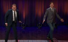 Sean Hayes & James Corden Debut New Christmas Classic 'Michael Ra-Pa-Pa-Port': Watch