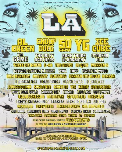 Once Upon A Time In LA Fest Lineup Has Tons Of Rap And R&B Nostalgia, Looks Amazing