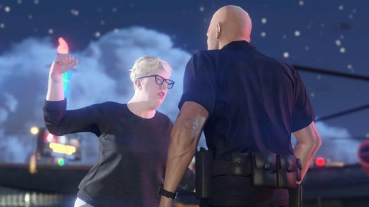 "Watch the Black Madonna Punch Out a Bouncer in New ""GTA"" Trailer"