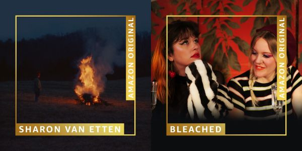 "Sharon Van Etten - ""Silent Night"" & Bleached - ""Jingle Bells"""