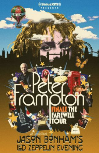 "Peter Frampton announces ""Finale the Farewell Tour"""