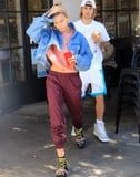 We Love Hailey Baldwin's Combat Boots Like She Loves Bieber, and That's a Lot