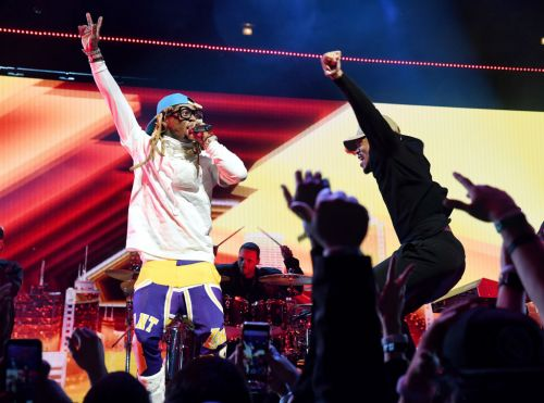 Watch Chance The Rapper, Lil Wayne, & Quavo Play The NBA All-Star Game Halftime Show