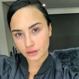 Demi Lovato Shared a Gorgeous Makeup-Free Selfie That Shows Off All Her Freckles