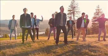 Men's Choir Sings A Cappella Rendition Of 'The Climb' With Peter Hollens