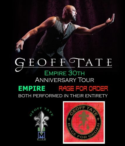 GEOFF TATE To Perform QUEENSRŸCHE's Entire 'Rage For Order' And 'Empire' Albums On 2020 Tour