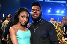 Normani Teases Sam Smith & Calvin Harris Collaborations at the 2018 AMAs: Watch