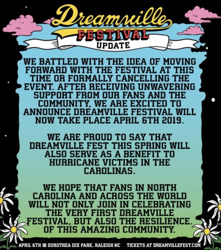 J. Cole's Dreamville Festival rescheduled for Spring 2019