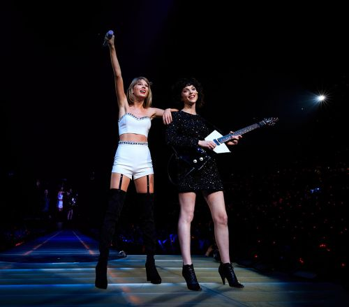 St. Vincent Credited On New Taylor Swift Album