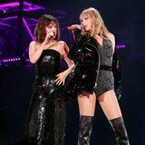 Surprise! Selena Gomez Pops Up at Taylor Swift's Reputation Concert For a Dazzling Duet