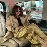 Selena Gomez in Sparkly Gold Pants Is the Level of Extra I Desire To Be