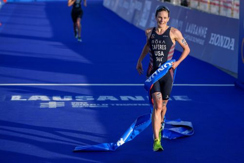 Olympic Triathlete Katie Zaferes Won a World Title 2 Weeks After Breaking Her Nose in Crash