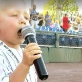 This 3-Year-Old Nailed the National Anthem at a Local Baseball Game, and the MLB Needs to Hire Him