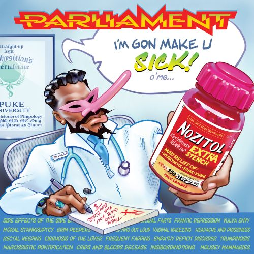 "Parliament - ""I'm Gon Make U Sick O'Me"""