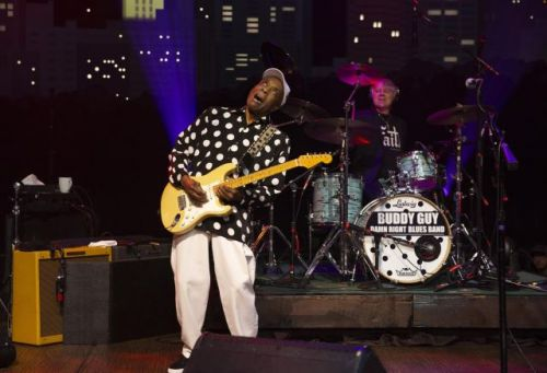 Blues legend Buddy Guy revels in the moment at 'Austin City Limits' taping