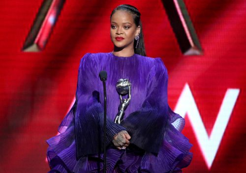 Watch Rihanna Receive President's Award At The NAACP Image Awards